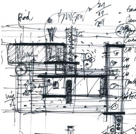 Paul brun architecte architecture maison architecture for Esquisse architecture